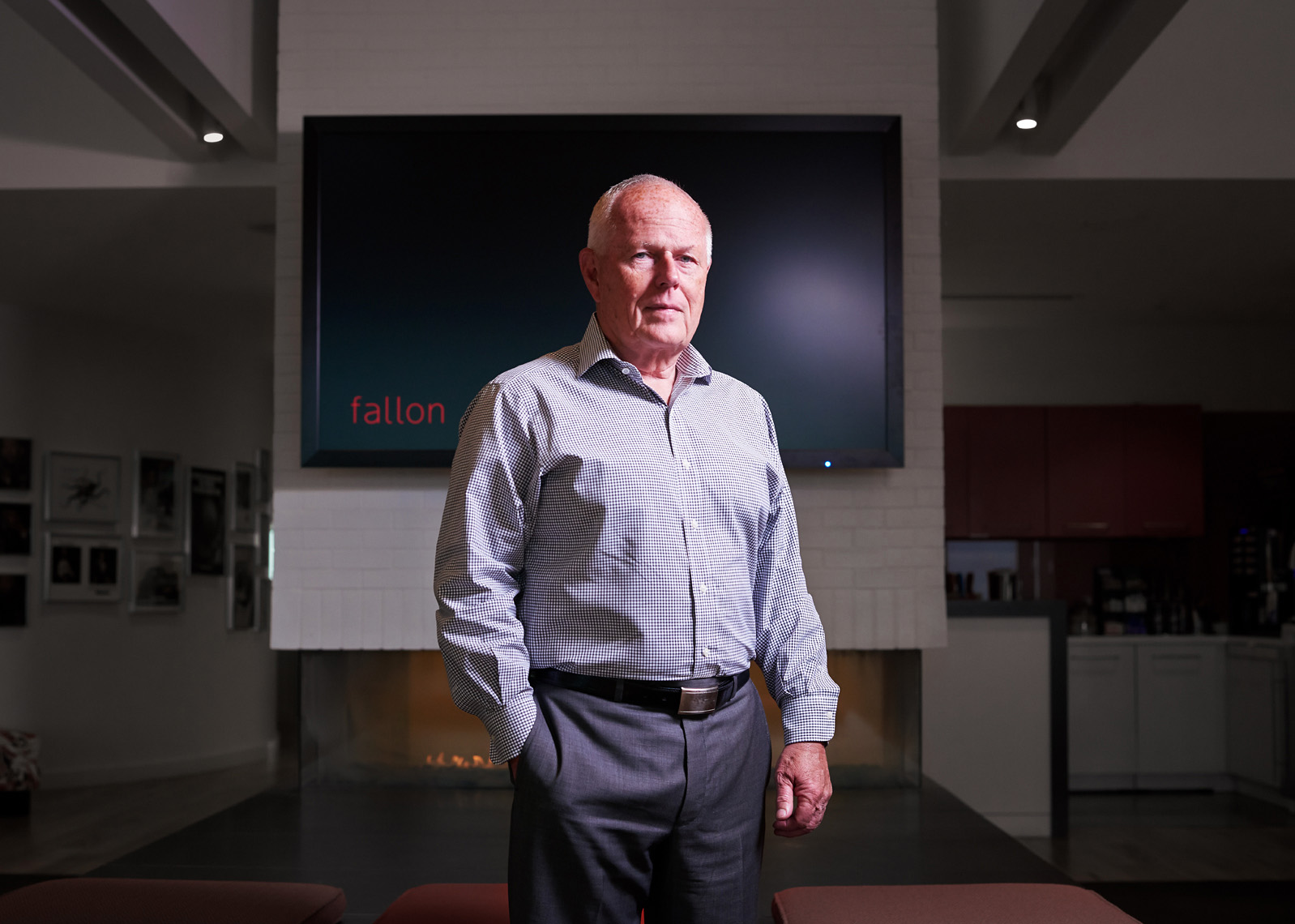 Pat Fallon corporate portrait