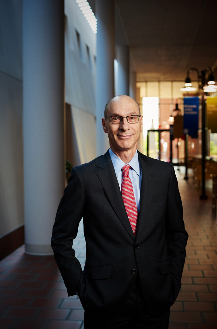 David Wippman, law school dean corporate portrait