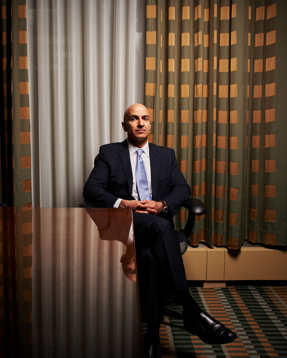 Neel Kashkari, Minneapolis Fed president portrait