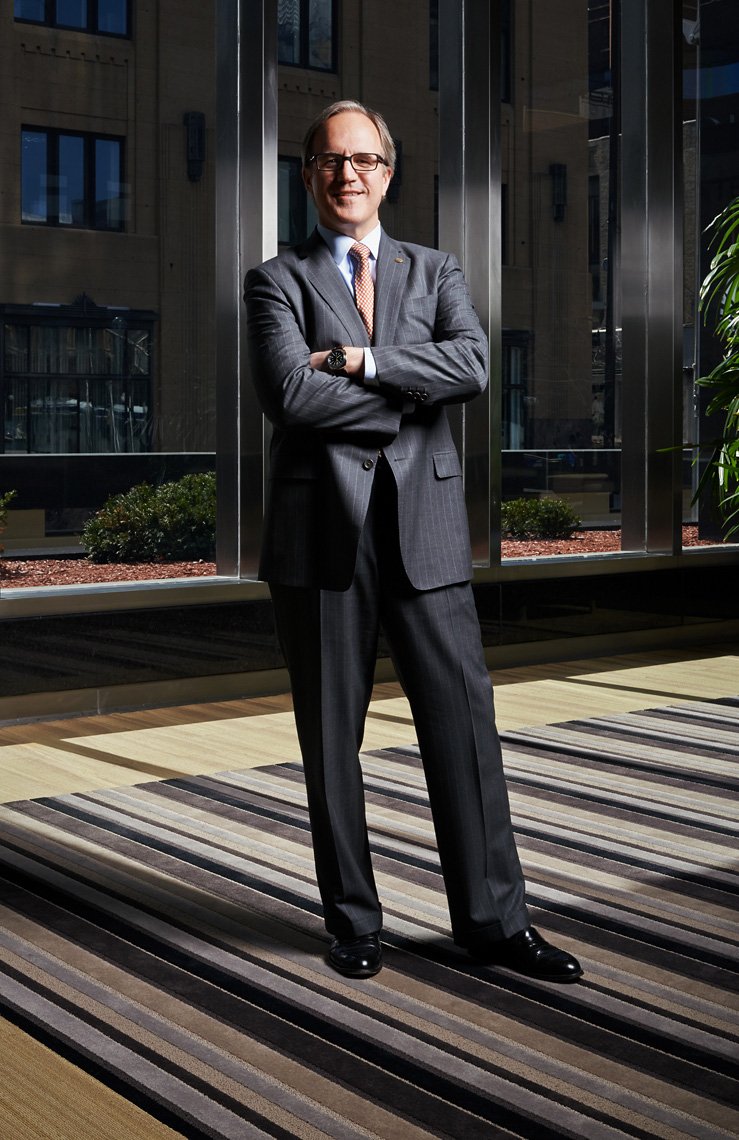 Doug Baker CEO Ecolab corporate portrait