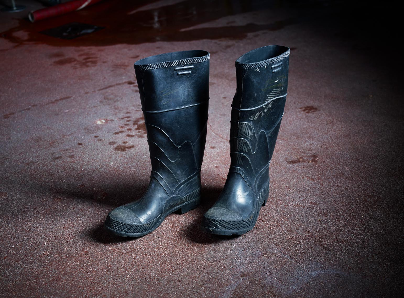 Wellington boots for brewery workers industrial